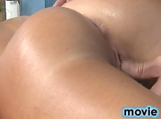 Naughty 18 year old fucks and gives a hot massage!